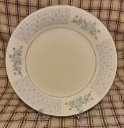 Set Of 4 Liling Fine China Yung Shen Chateau Dinner Plates