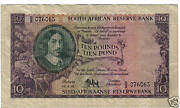 South Africa 10 Pounds 1956 Look Scans