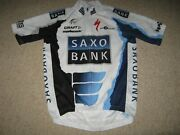 Saxo Bank Specialized Riis Cycling Craft Cycling Jersey [s]