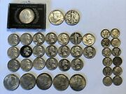 Old Us Lot Bullion Silver Coins 90 7.70 Face Value And 40 2.50 Face Value