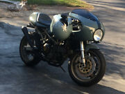 Ducati St Cafe-racer Half-fairing Modification Kit Test Fitted