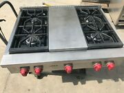 36 Wolf Stainless Rangetop Propane Or Gas 4+ Grill In Los Angeles