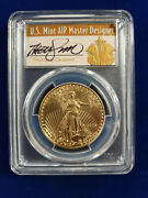 🌟2018 50 Gold Eagle Pcgs Ms70 First Day Of Issue Fdoi Cleveland Auto Pop 20