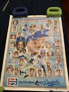 Los Angeles Dodgers Pepsi Poster-1978 Old Timers Day - Pepsi Salutes The Dodgers