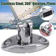 3andrdquo 360anddeg Rotate Boat Deck Hinge Connector Marine Fitting Hardware Stainle