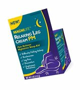 Magnilife Relaxing Leg Cream Pm Deep Penetrating Topical For Pain And Restle...