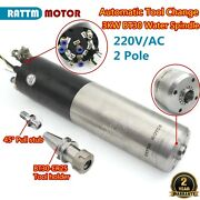 3kw 220v Bt30 Automatic Tool Changer Atc Water Cooling Spindle Motor Cnc Milling