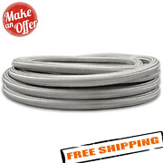 Vibrant 11946 50ft Roll Of Stainless Steel Braided Flex Hose -6 An 0.34 Id