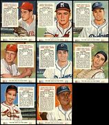 1954 Red Man Partial Complete Set - W/ Tabs 2.5 - Gd+