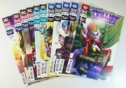 Dc Justice League Of America 2018 22 23 23 24 24 25 25 28 28 29 29 Vf- To Nm