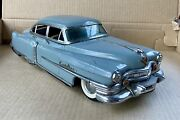 Nice Original Vintage Tin Toy Cadillac By Marusan Kosuge Made In Japan 1950andrsquos