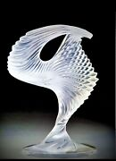 In The Box Lalique Crystal Trophandeacutee Sculpture French Trophee France Fine Lead Art