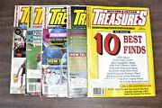 Western And Eastern Treasures Magazines. Approx. 350+. Metal Detecting. 1968-1999.