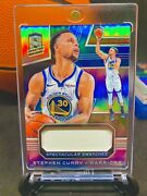 Stephen Curry Sp /99 Pop 1 Panini Swatch Jersey Patch Relic Rare Card Refractor