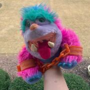 My Pet Monster- Wogster- Plush Puppet Vintage With Handcuffs And Box