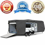 Universal Cover Travel Trailer Camper Fits Up To 35' Foot Trailers / Toy Haulers