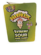 1 Lot Of Warhead Extreme Sour Lunchboxes 5 Fla 37 Boxes In All