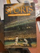 Sports Illustrated Number One 1 August First Issue 1954 Cards Envelope Baseball