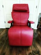 Pc-610 Omni-motion Power Human Touch Zero Gravity Perfect Chair Recliner Red
