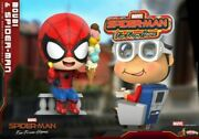 Hot Toys Cosb642 Far From Home Spider-man Cosbaby Mini Action Figure Model Toy