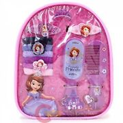 Disney Sofia The First Amulet Girls Hair Accessory In Backpack New Gift