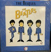 The Beatles Sericel Meet The Beatles 18x18 Matted Rare Art Le 500