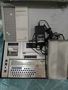 Vintage General Lbc-1100 Calculator With Cl-1000 Printer Tested Working