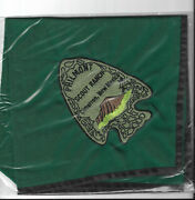Philmont Scout Ranch Green Embroidered Neckerchief