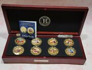 The Bradford Exchange The John Wayne Gold Proof Coin Collection Coa And Case