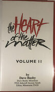The Heart Of The Matter Vol Ii Sessions3 And 4 By Dave Busbyvhs 1992rare Vintage