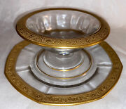 Tiffin Franciscan Pattern Octagon Plate And Bowl. Vintage Lovely Piecesboxf