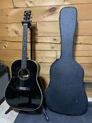 Martin Ceo 6 Black Special Limited Edition Acoustic Electric Guitar W/ Hard Case