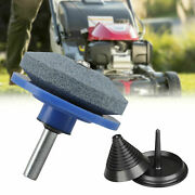 Mower Blade Balancer And Sharpener Set For Lawn Mower Tractor Garden Tools Useful