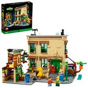Lego Ideas 123 Sesame Street 21324 Brand New And Sealed New