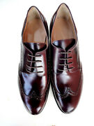 Cq Made To Order Italy Shoes Luxury Handmade Custom Leather Bordeaux 10-26 40-56