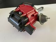 Nos Gm Distributor Red Cap Mag Pulse Cd Ignition Ti Copper Terminal Oem