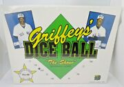 Griffeyand039s Dice Ball The Show Game 90s Vintage Autographed Poster Sealed Nib Rare
