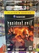Resident Evil Vga 85 Nm+ 10th Anniversary Collection Gamecube Gamestop Exclusive