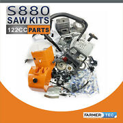 Farmertec Complete Repair Kit Compatible With Stihl Ms880 088 Chainsaw Crankcase