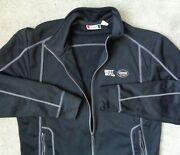 Clique Mens S Best Buy Geek Squad Embroidered Logo Full Zip Performance Jacket