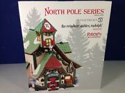 Dept 56 North Pole Village The Reindeer Stables Rudolph 4025278 Brand New Rare