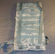Usaf Us Air Force Issued Abu Tiger Stripe Molle Hydration Pack Padded Backpack