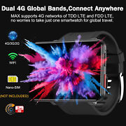 4g Smart Watch 2.86 Inch Screen Android 7.1 5mp Camera 2700mah Smartwatch N9l5
