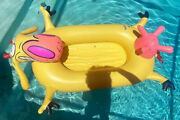 Cow And Chicken Cartoon Network Inflatable Pool Rare 1997 Limited 100