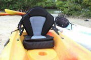 Deluxe Fishing Molded Kayak Seat 18tall Back+free Extra Cushion