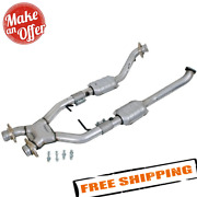 Bbk Performance 1618 2-1/2 Catted X-pipe For 1996-1998 Ford Mustang Cobra
