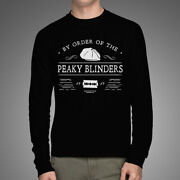By Order Of The Peaky Blinders 1919 Thomas Shelby Black Long Sleeve