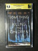Something Is Killing The Children 1 First Print Cover A Cgc 9.8 Ss