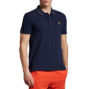 Lyle And Scott Wide Tipped Mens T-shirt Polo Shirt - Z99 All Sizes