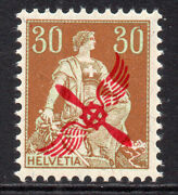 Switzerland 30 Cent Air Mail Stamp C1919-20 Unmounted Mint Never Hinged 1135